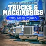 Trucks and Industrial Machinery Images