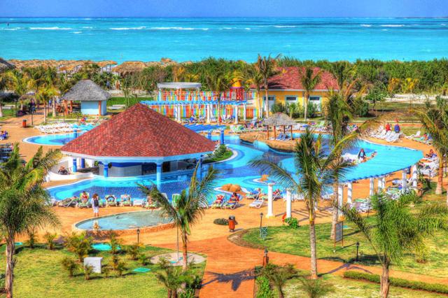 Caribbean Resort - Colorful Stock Photos