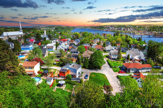 Saguenay City - Colorful Stock Photos