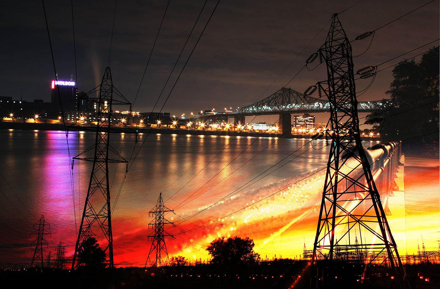 Urban Electrification - Colorful Stock Photos