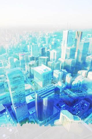 Urban Vertical Cityscape - Colorful Stock Photos