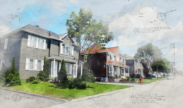 Modern-Residential-Neighborhood-Sketch-Image