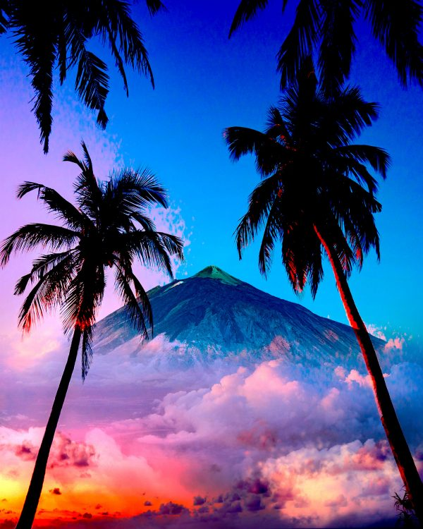 Beautiful Caribbean Paradise 01 - Colorful Stock Photos