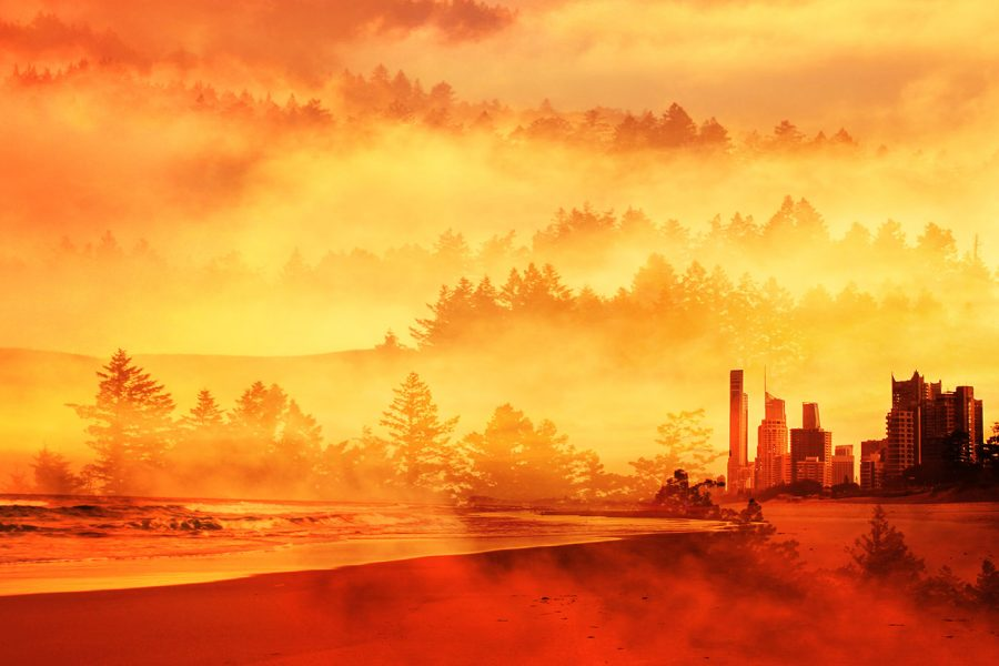 Colorful Apocalyptic Imagery 05 - Colorful Stock Photos
