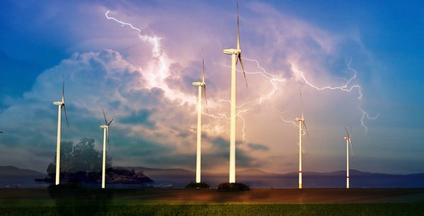 Windmill Energy Production 01 - Colorful Stock Photos