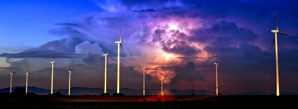 Windmill Energy Production 02 - Colorful Stock Photos