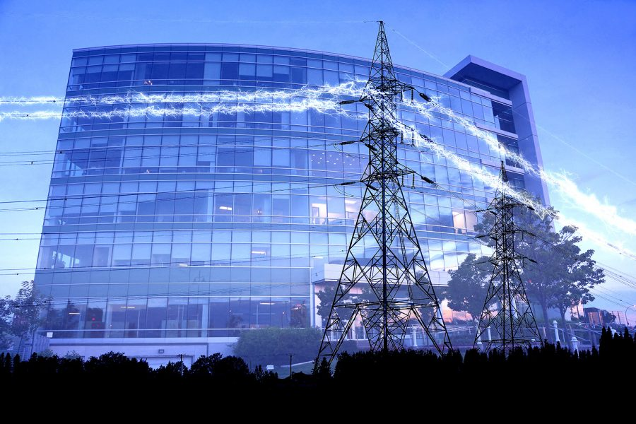 Business Electrification in Blue - Colorful Stock Photos